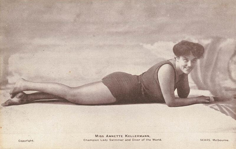 b0a33fcfdeba5 The 'Australian Mermaid' Who Introduced Recreational Swimming to American  Women