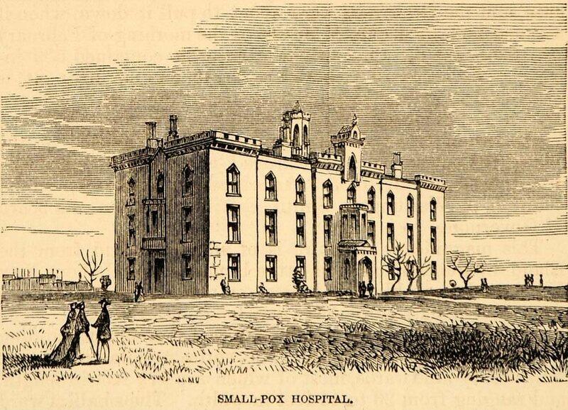 Roosevelt Island Smallpox Hospital - Atlas Obscura