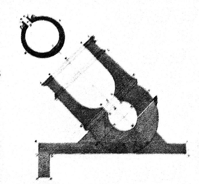an 18th-century french mortar bomb  (photo: public domain/wikicommons)
