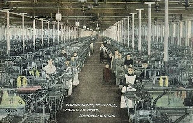 new hampshire mill workers invented a new type of french