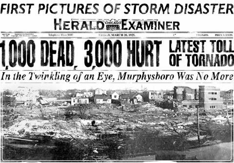 The Tri-State Tornado decimated towns across the Midwest and terrified citizens nationwide.