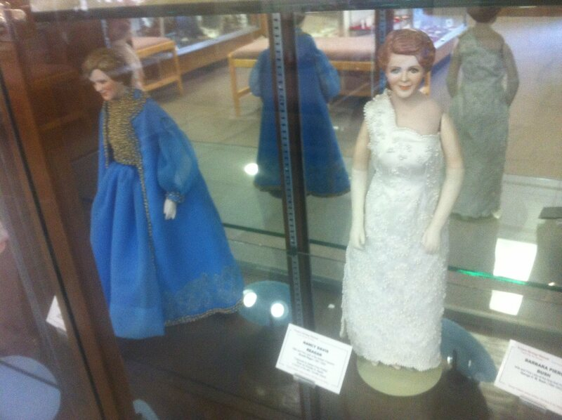 First Lady Dolls at the Uintah County Library
