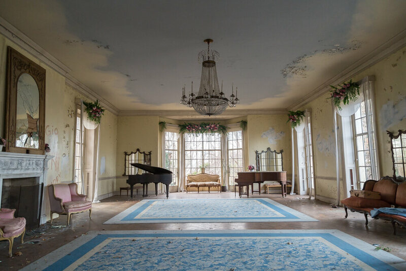 Exploring An Abandoned New York Mansion With A Secret Past