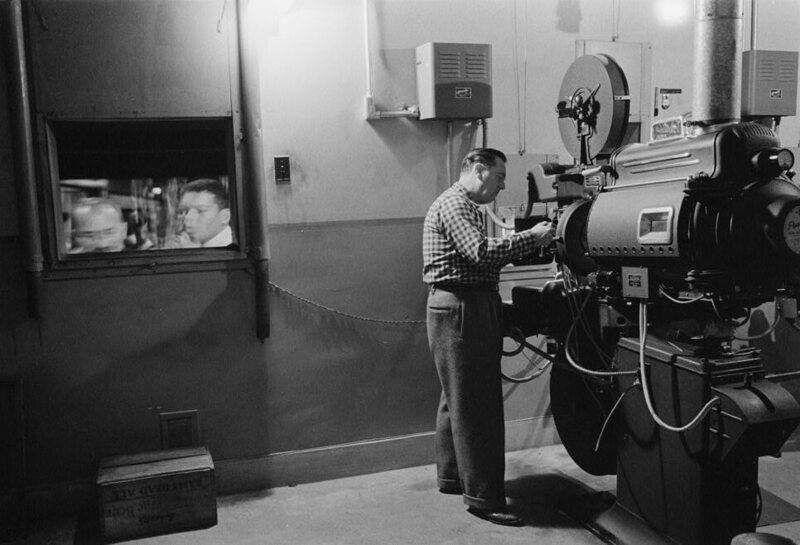 The Explosive Truth Behind The Movie Theater Projection Room Atlas Obscura