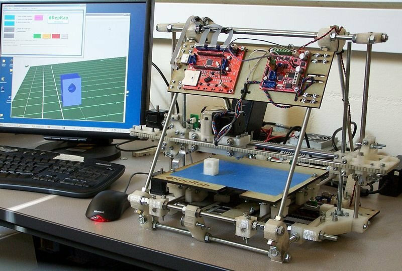 RepRap Mendel, one of the most recent common models.