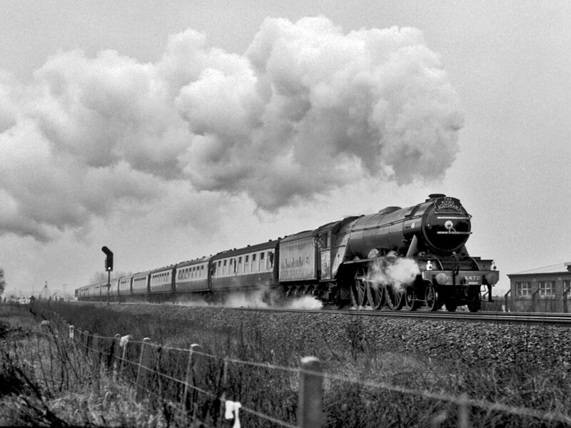 The Flying Scotsman in 1983.