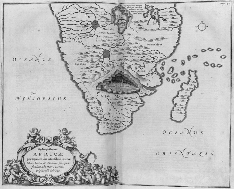 Maps of the Moon Mountains Once Thought to be the Source of the