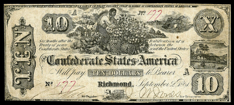 Object of Intrigue: Confederate Currency - Atlas Obscura