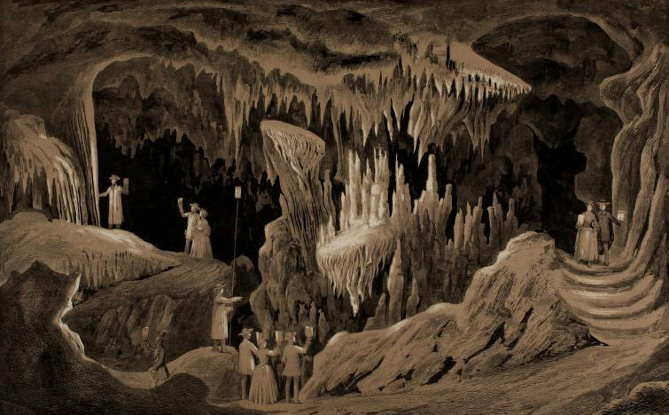 The 19th Century Show Caves That Became America S First
