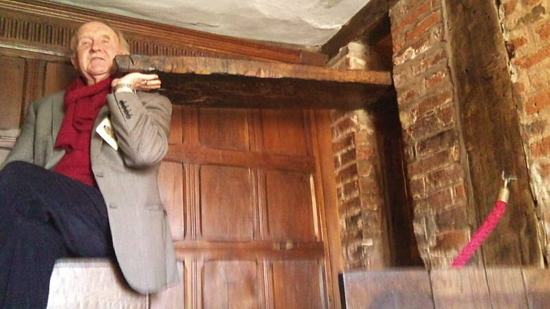 the secret rooms that were custom built to hide your priest