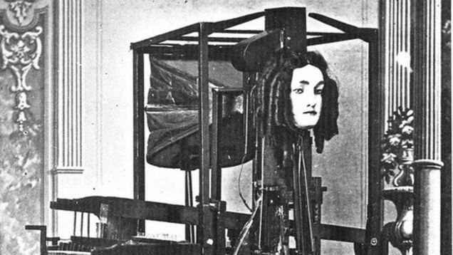 Text-To-Speech in 1846 Involved a Talking Robotic Head With Ringlets