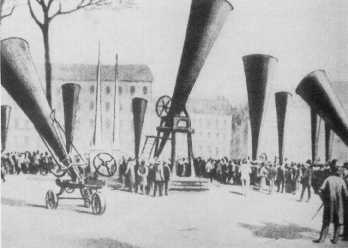 History repeated : Forgotten hail cannons of Europe 1901