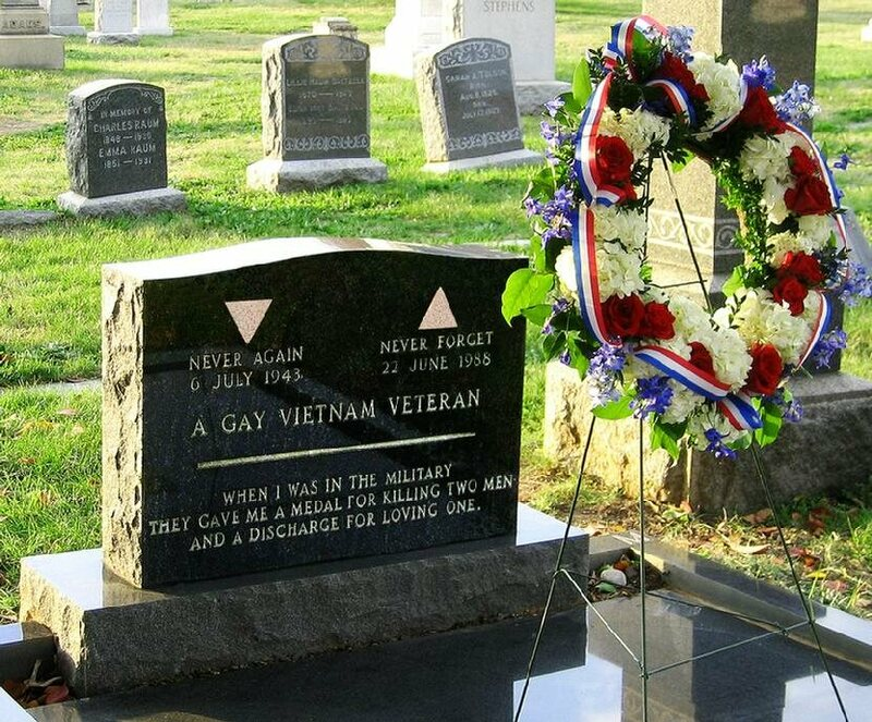 The Only Lgbt Cemetery Section In The World Was Inspired