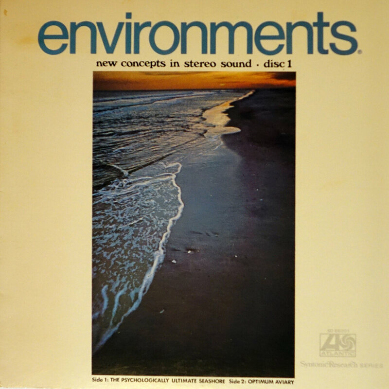 The cover of Environments 1.