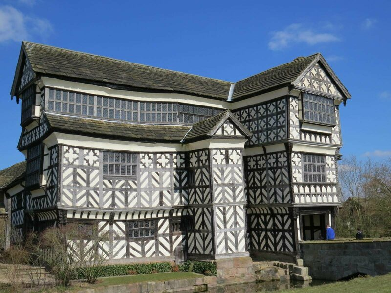Little Moreton Hall from the outside
