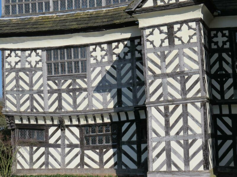 Up close with Little Moreton Hall