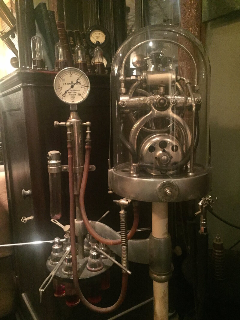Inside The Spark Filled Home Of A Vintage Electric Machine