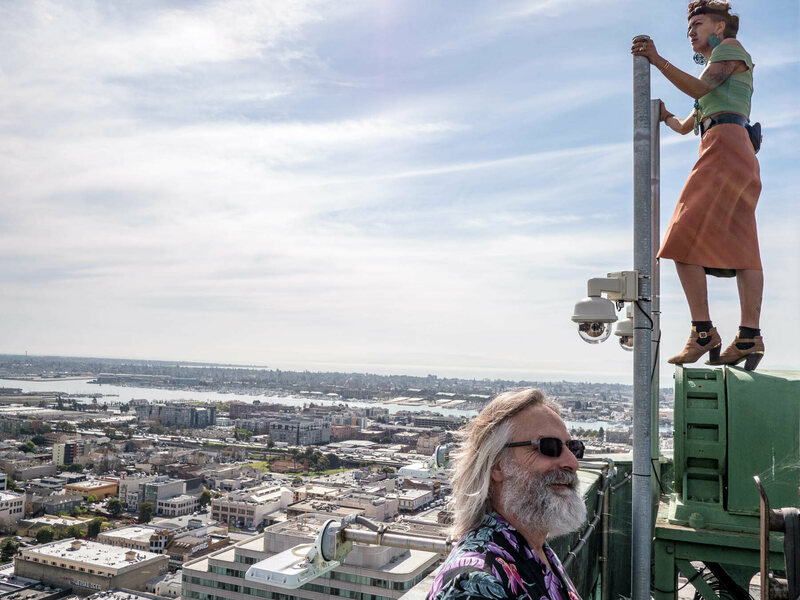 Oakland's Historic Tribune Tower and the Renegade Artist Who