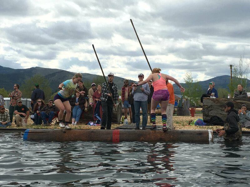 lumberjack world championship lumberjack contests are the coolest college extracurricular