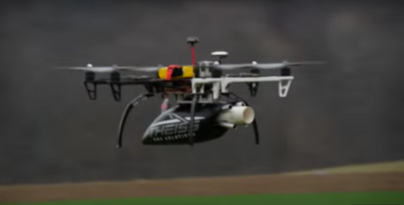 This Drone Has Been Outfitted With An Anti Net Gun Photo FliteTest Youtube