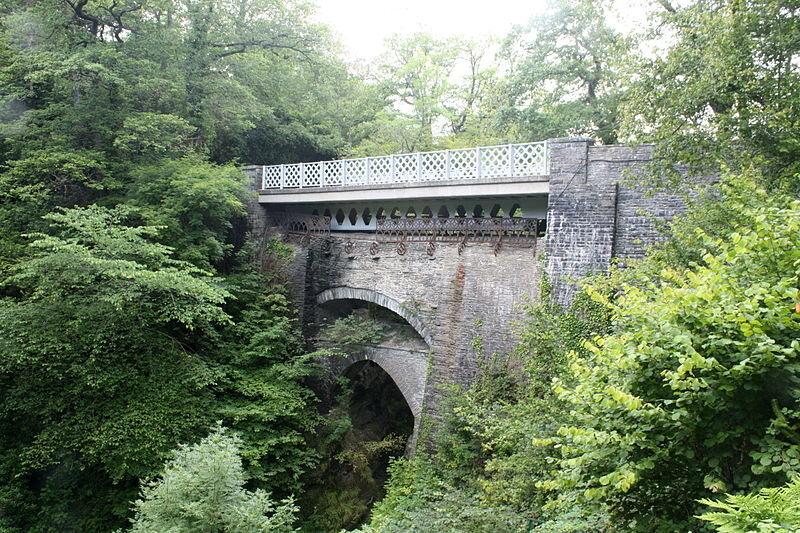 Devil's Bridge in Ceredigion, Wales