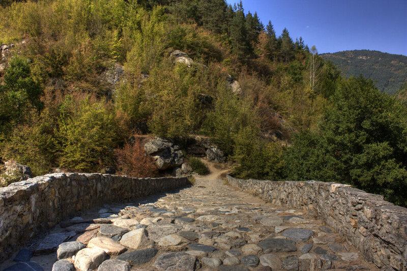 Devil's Bridge near Ardino, Bulgaria