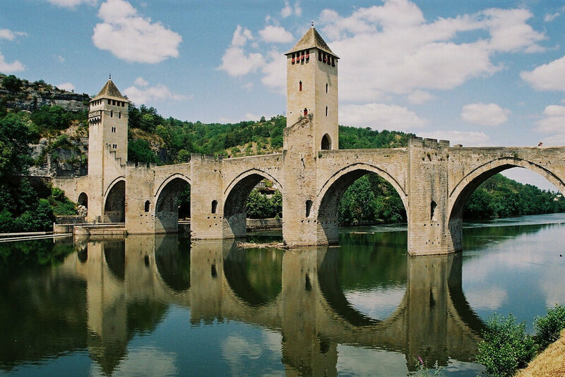 Pont Valentre in Cahors, France