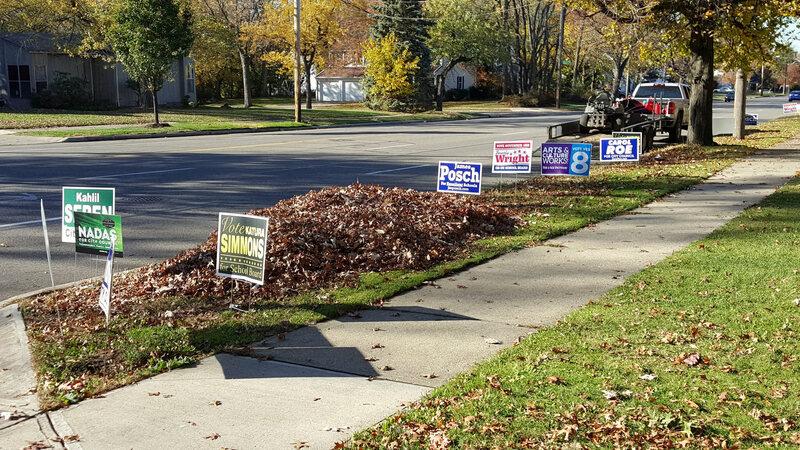 Logic Behind Yard Signs In Politics