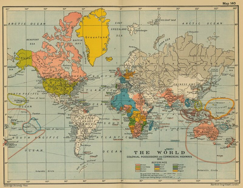 This cartographer is proving not all digital maps are the same a world map from 1910 when maps could become outdated photo patrick barrycc by sa 20 gumiabroncs Image collections