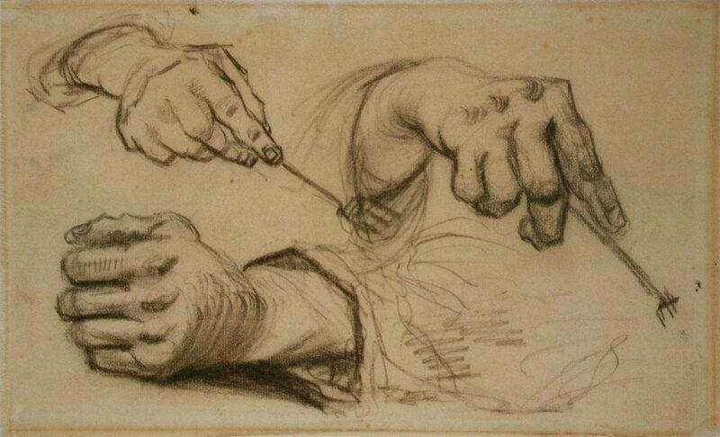 Found A Sketchbook Of Van Goghs Drawings Atlas Obscura