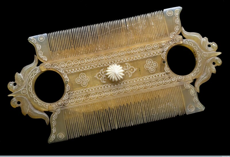 Some Of Historys Most Beautiful Combs Were Made For Lice Removal