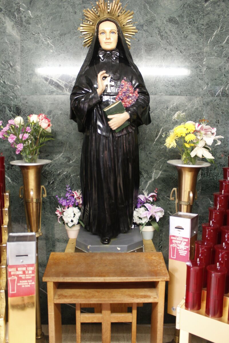 The Shrine of Saint Frances Xavier Cabrini in Manhattan