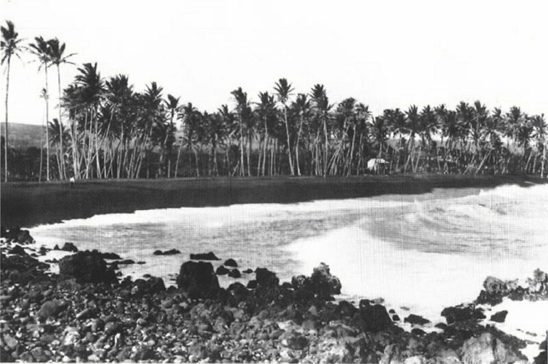 Kalapana, Hawaii in the early 1900s.