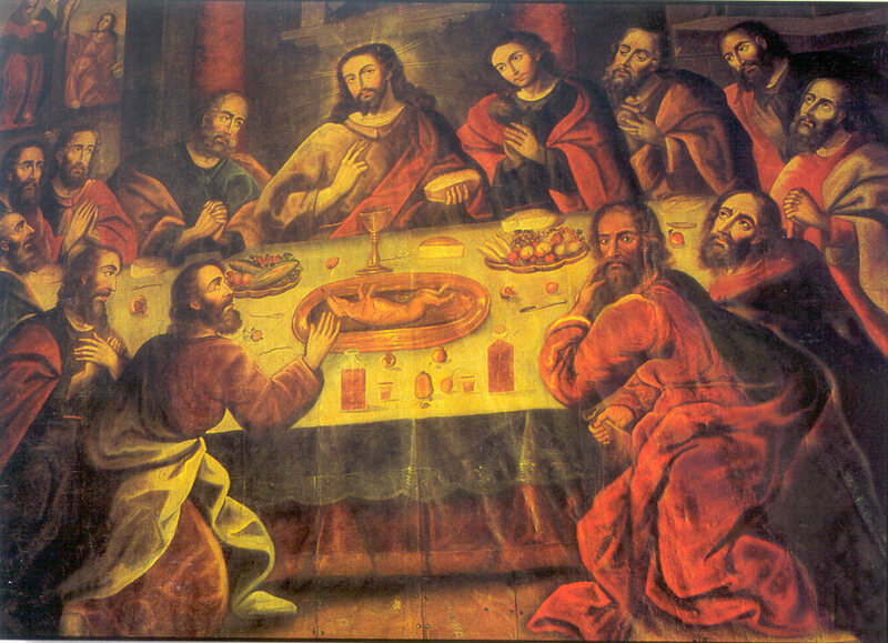 The Last Supper by Marcos Zapata
