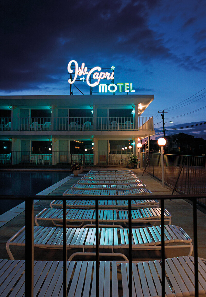 Rooms: New Jersey's Deserted Mid-Century Motels, By Night
