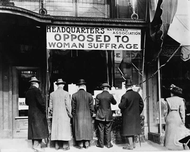anti suffragists