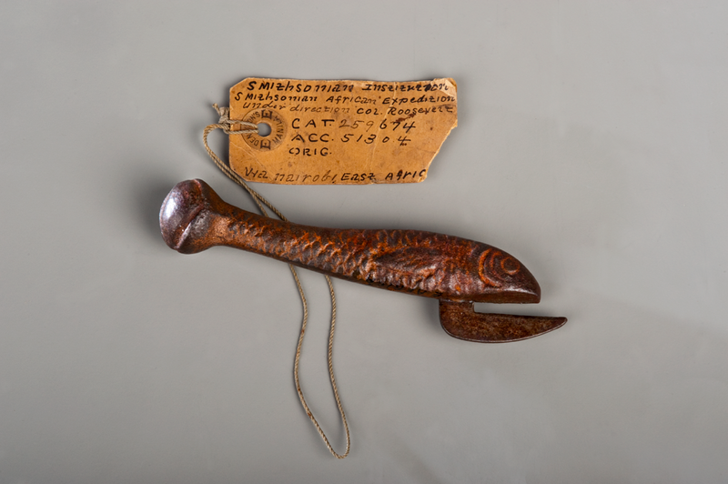 Can opener from Theodore Roosevelt's African expedition