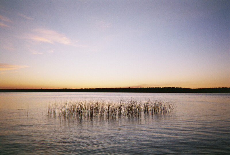 Manitoba's Dorothy Lake, one of the 10% of the province's lakes that do have an official name.