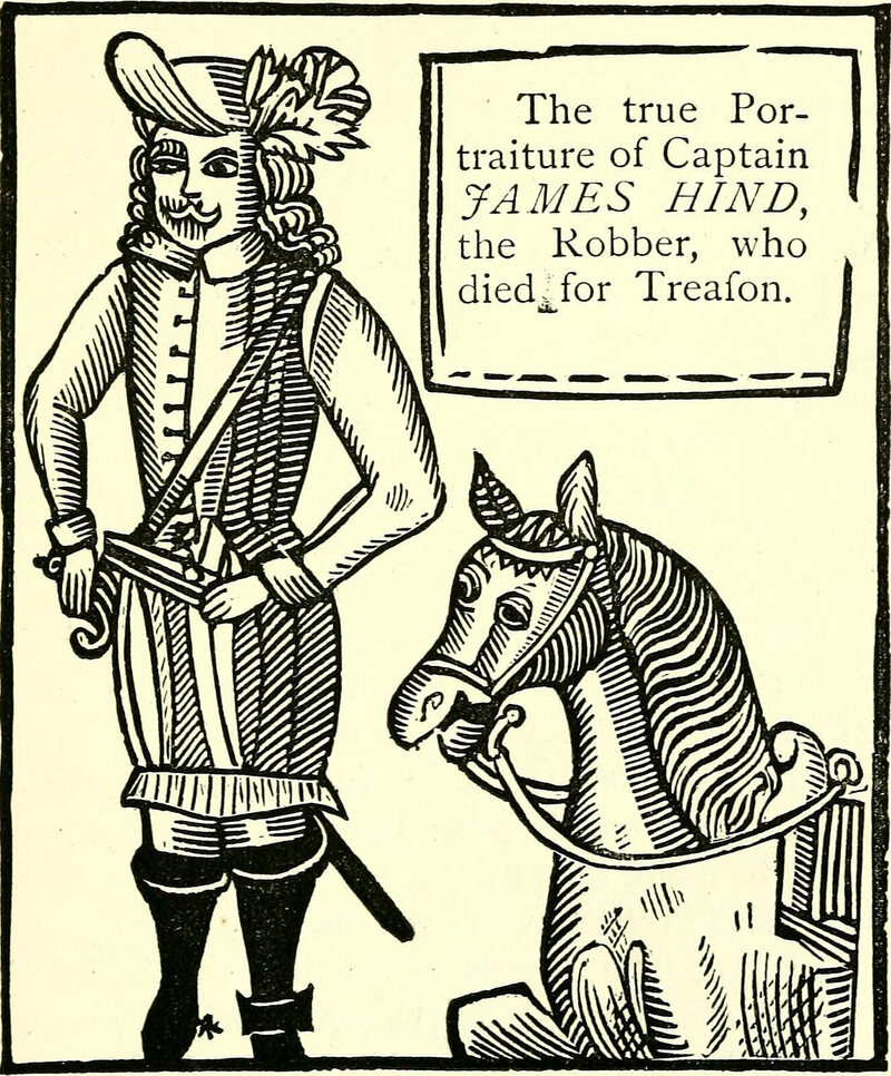the scandalous zines of renaissance england atlas obscura Thomas Edison Died Date an illustration of highwayman captain hind published in 1651 photo internet archive public domain
