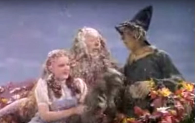 The Snow In Wizard Of Oz Was Asbestos As Scarecrows Entire Costume Photo YouTube