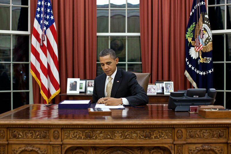 ... The White House. President Barack Obama, Potentially Writing To You.