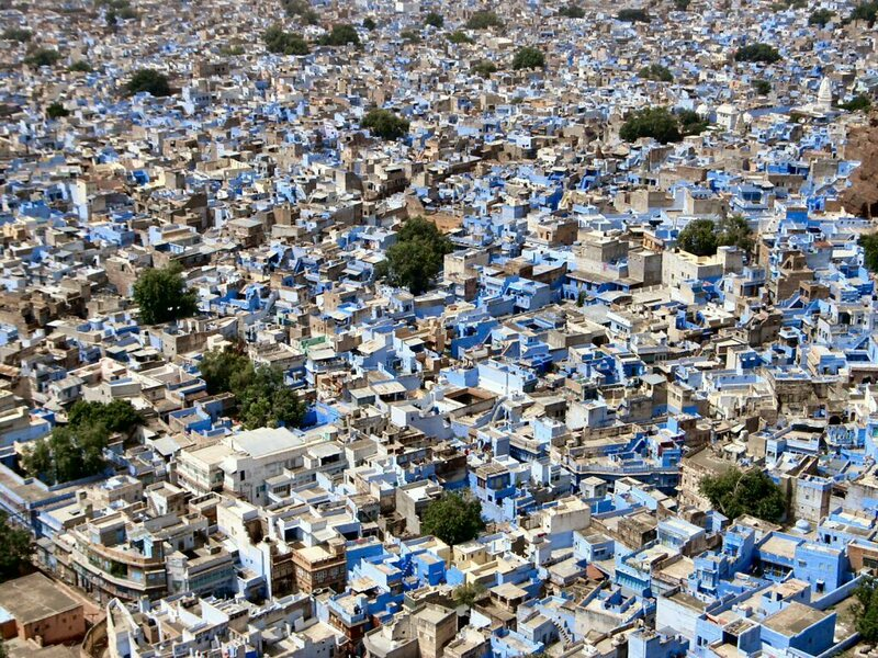 An elevated view of the city of Jodhpur. (Photo: