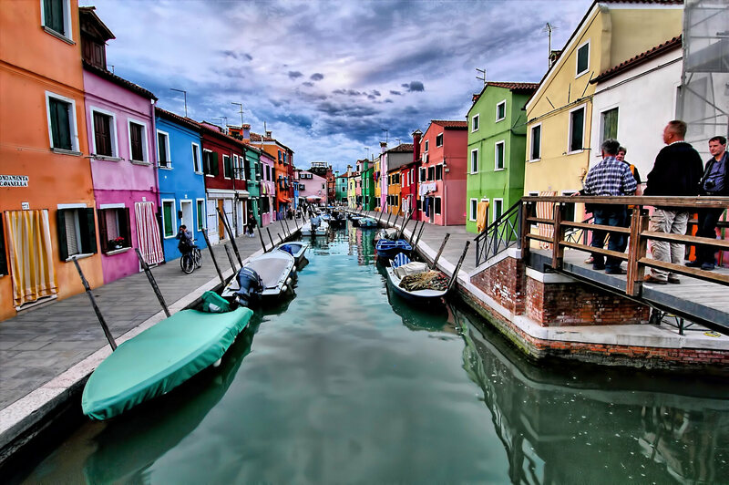 The Mad Colored Houses of Burano