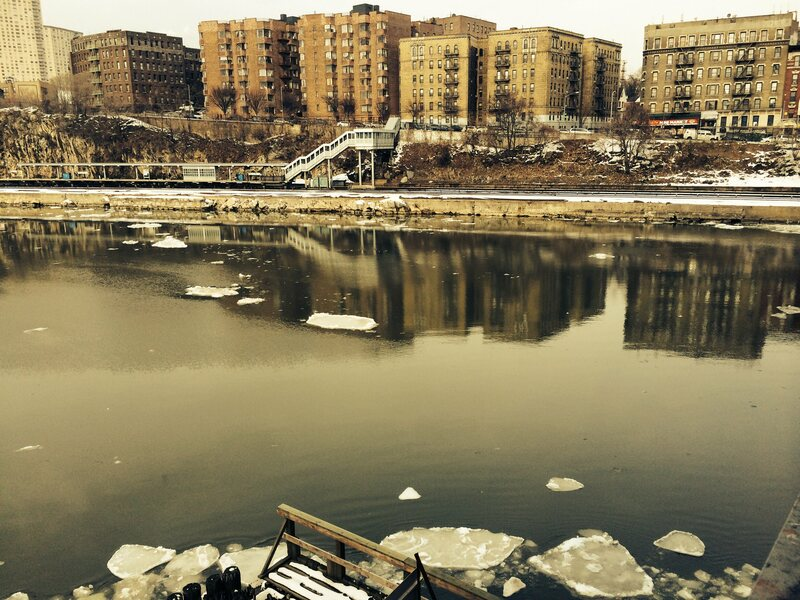 The Harlem River Canal and Marble Hill