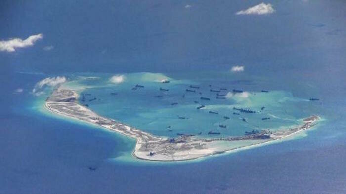 Subi Reef, Spratly Islands, South China Sea