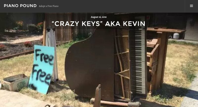 Kevin's adoption page at the Piano Pound.