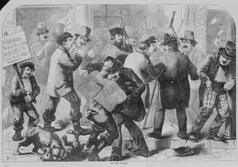 Election Fraud in the 1800s Involved Kidnapping and Forced Drinking - Atlas  Obscura