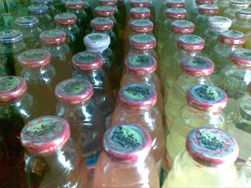 A blurry but promising phalanx of Fruitopia.