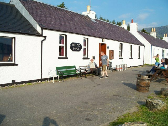 The Old Forge in Inverie is the remotest pub on mainland Britain.