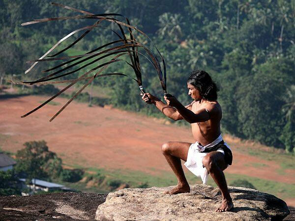 India's Deadly, Flexible Whip Sword Takes Years to Master
